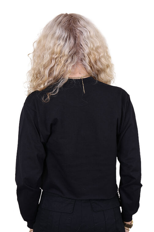 AFKNCHUR Pro Club Womens L/S Tee Black