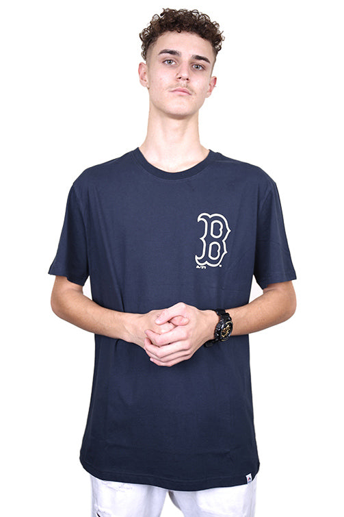 Majestic Red Sox Madison Tee Navy