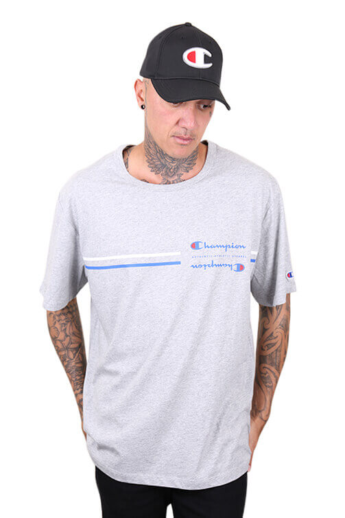 Champion Sporty S/S Tee Grey Front