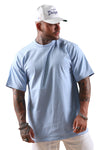 Pro Club Heavyweight S/S Tee Sky Blue Tall