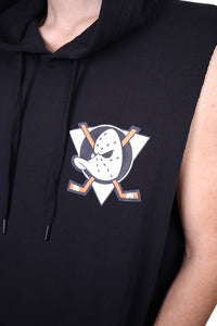 Majestic Anaheim Ducks Vernon Muscle Hood Black