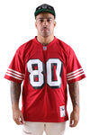 M&N 49ers Rice 94 Leg Jersey Red