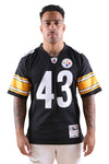 M&N Steelers Polamalu 05 Leg Jersey Black