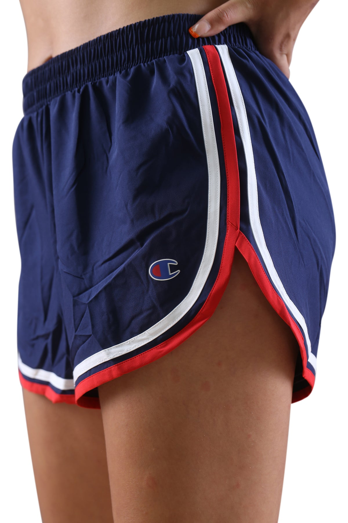 Champion Womens Sporty Varsity Short Navy/Red