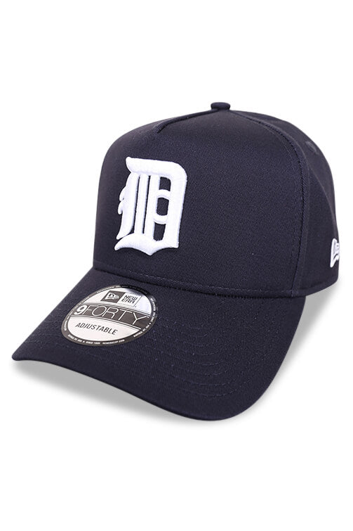 New Era 940 A Frame Detroit Tigers Retro Pack Navy Snapback