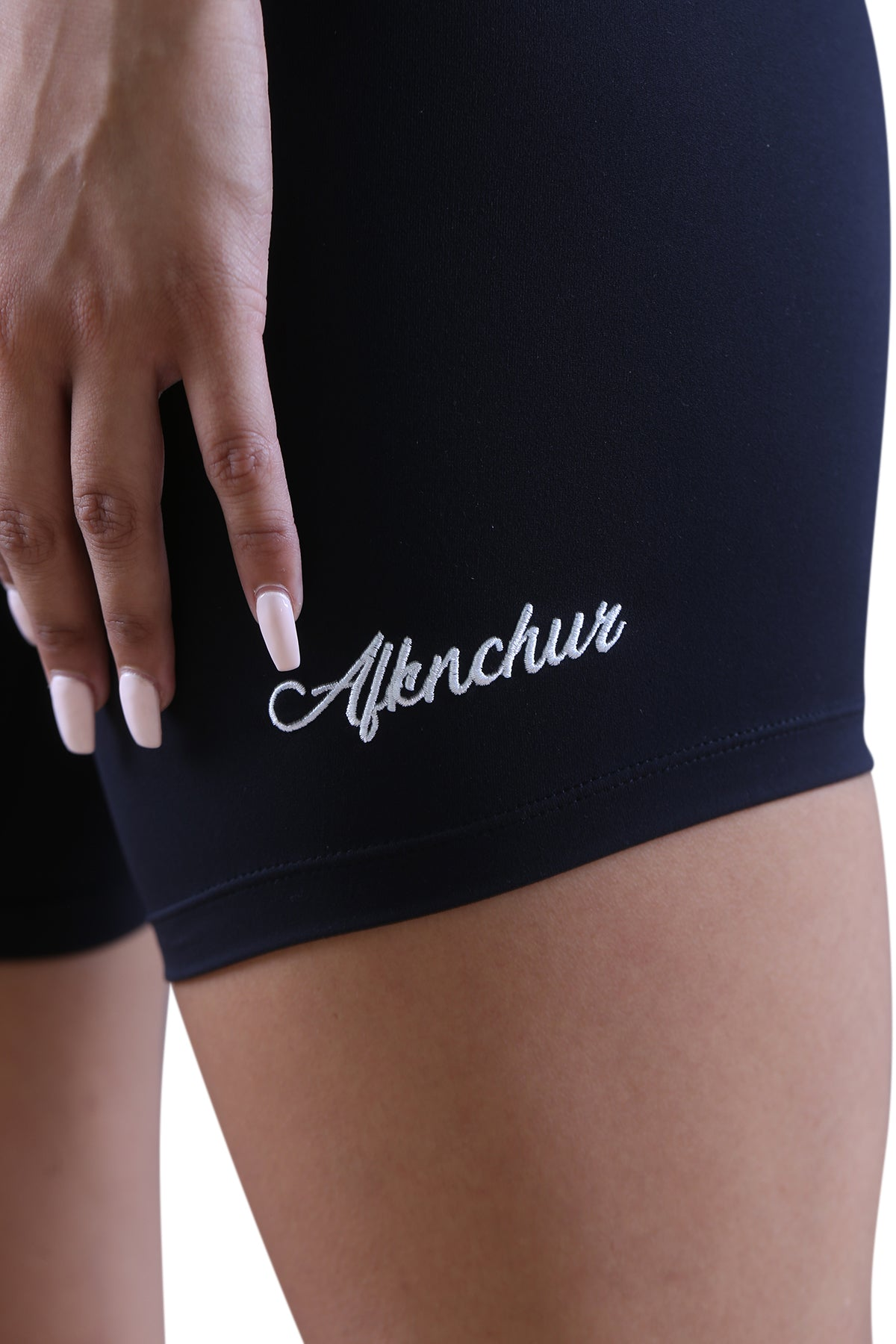 AFKNCHUR Womens Bike Shorts Black
