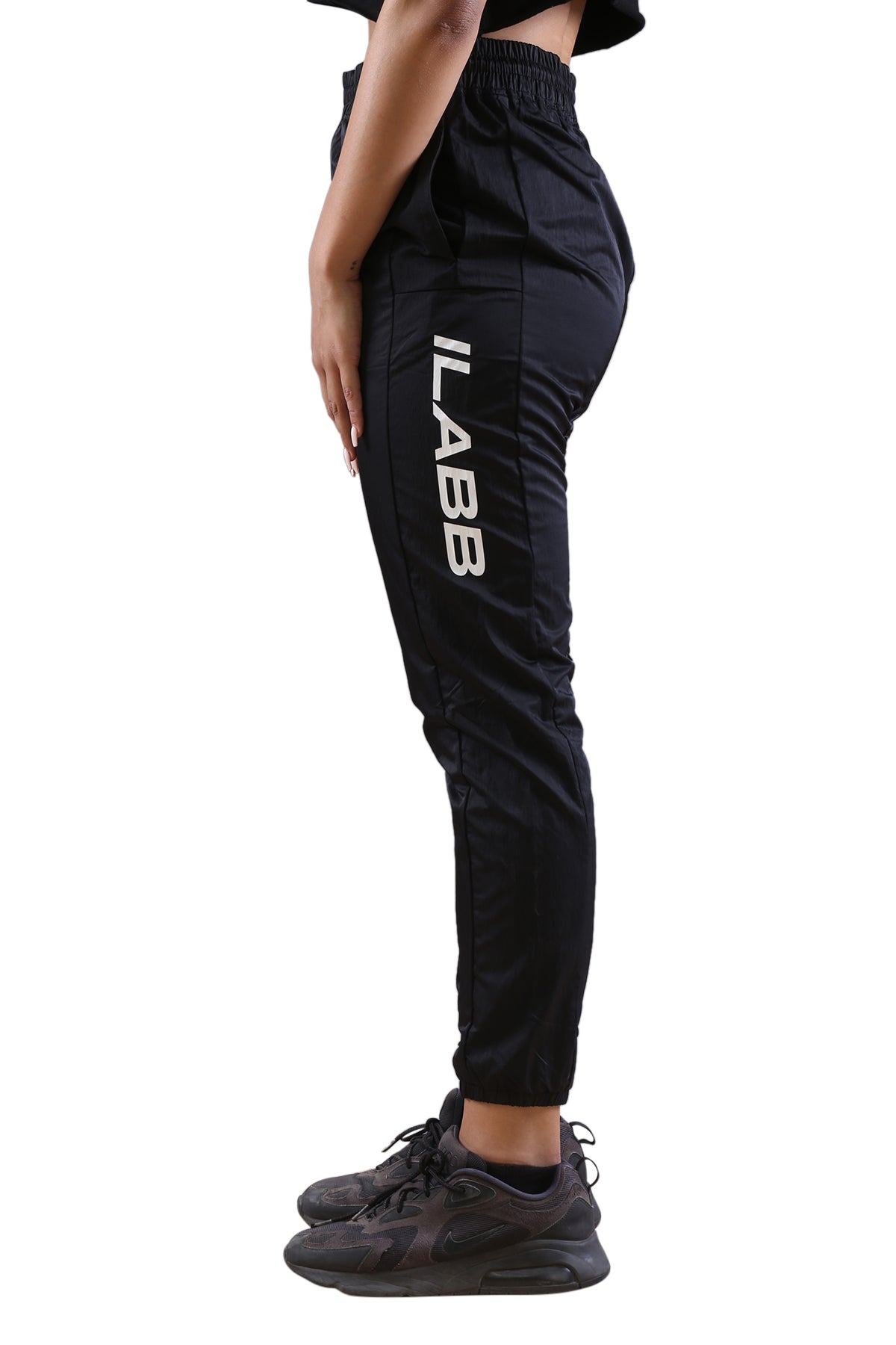 Ilabb Womens Ascend Trackies Black Angle