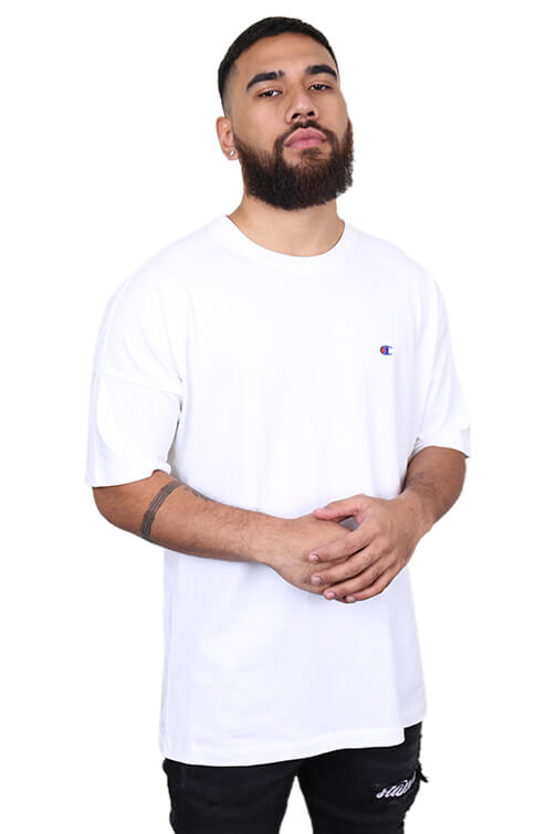 Champion ID Collection Script Tee White