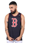 New Era Red Sox Mesh Tank Navy