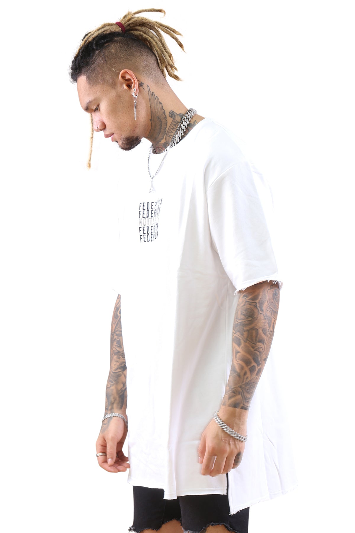 Federation Street Top Backwards White Angle 1