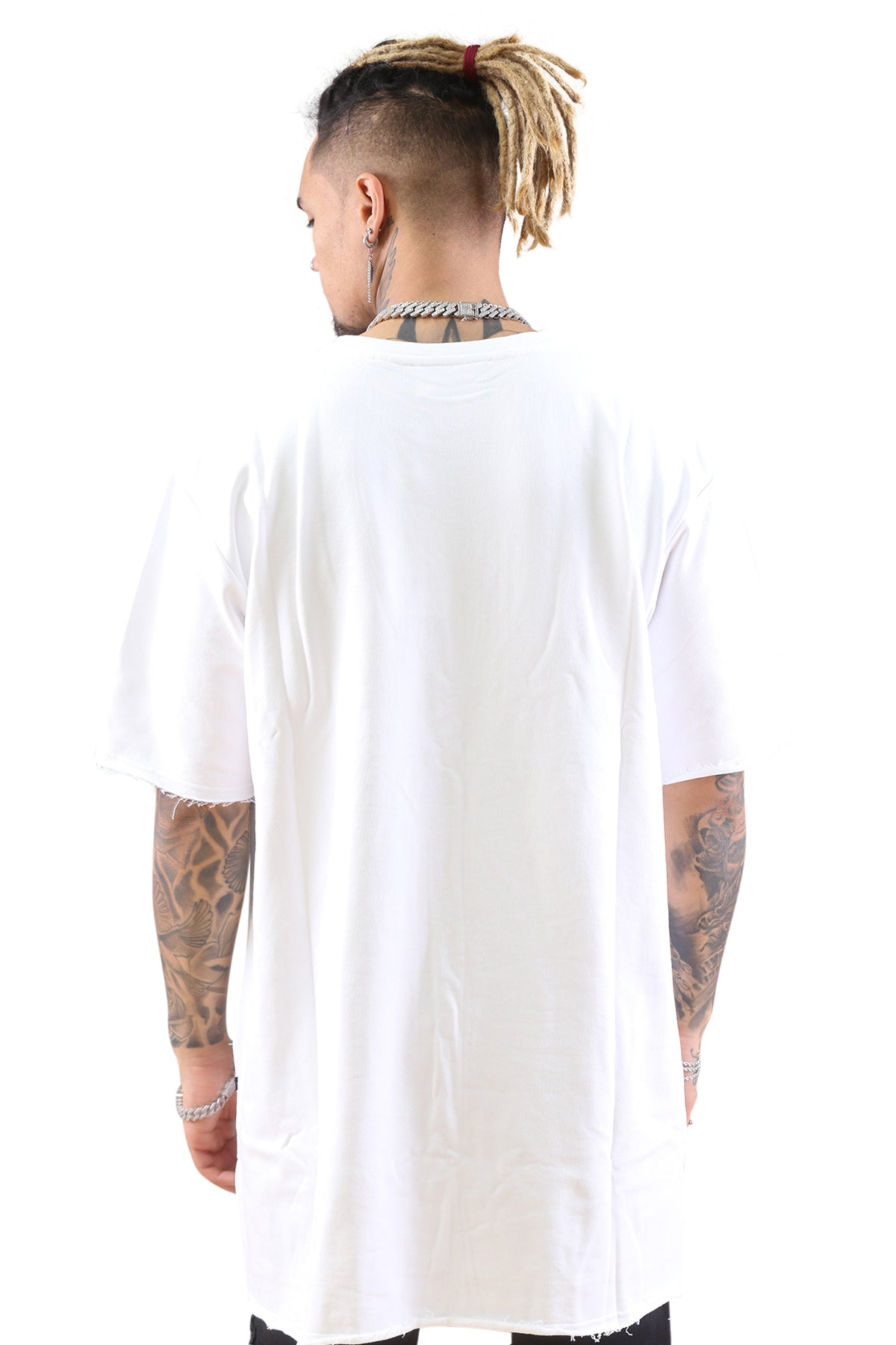 Federation Street Top Backwards White Back
