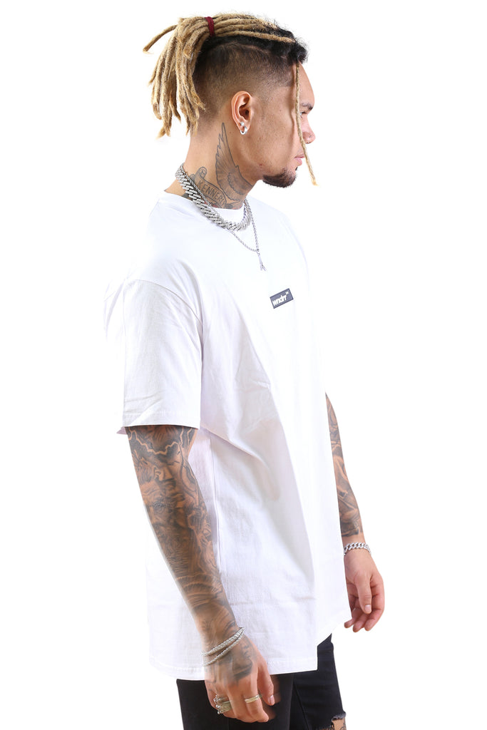 WNDRR Backlash Custom Fit Tee White Angle 2