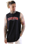 Federation Atlas Tank Twenty Black Front