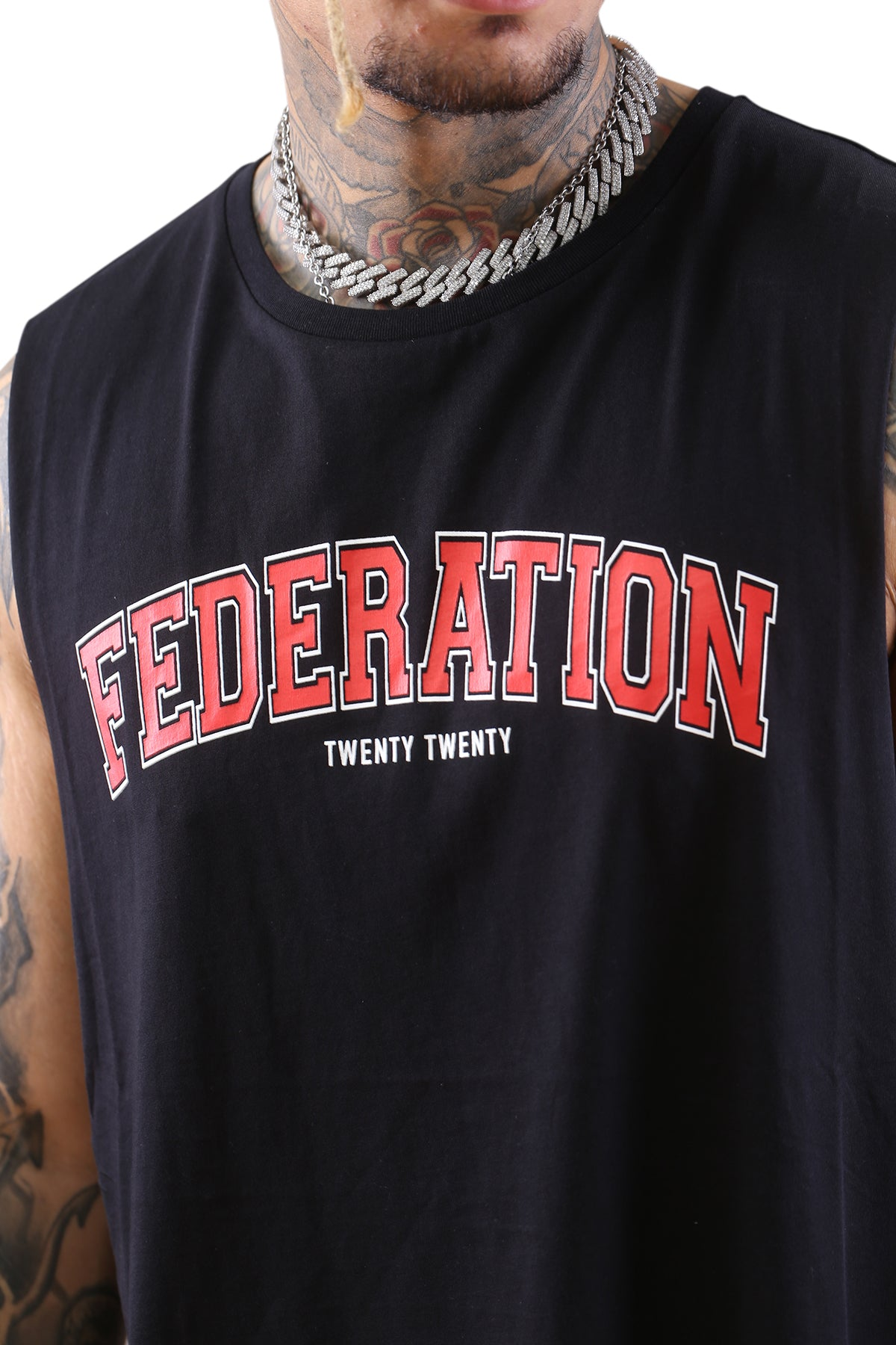Federation Atlas Tank Twenty Black Detail