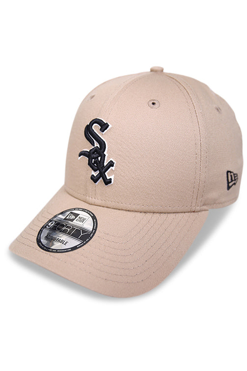 New Era 940 White Sox Camel Core Strapback Angle