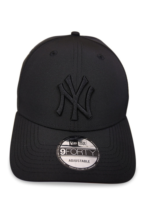 New Era 940 NY Black Pro Snapback Front