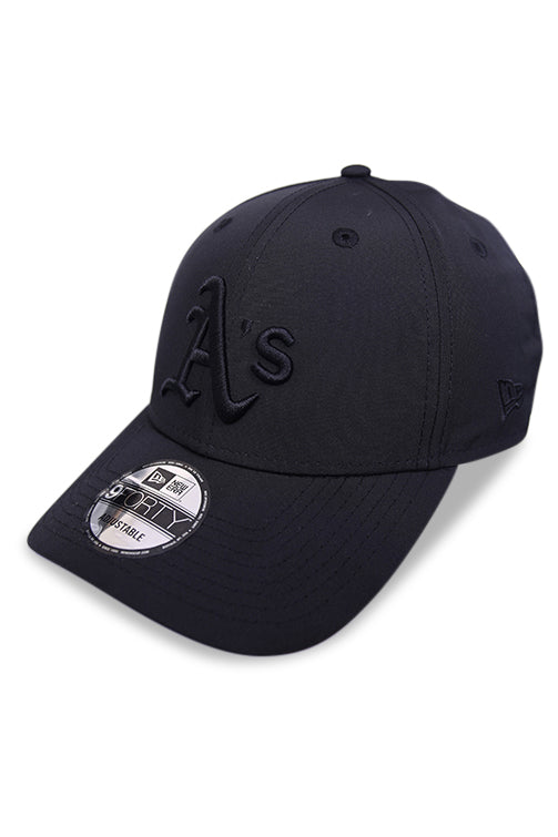 New Era 940 Athletics Black Pro Snapback Angle