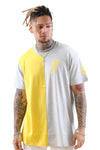 Federation Split Tee Squad Mustard/Marle Front