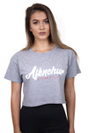 AFKNCHUR Womens MVP Crop Grey