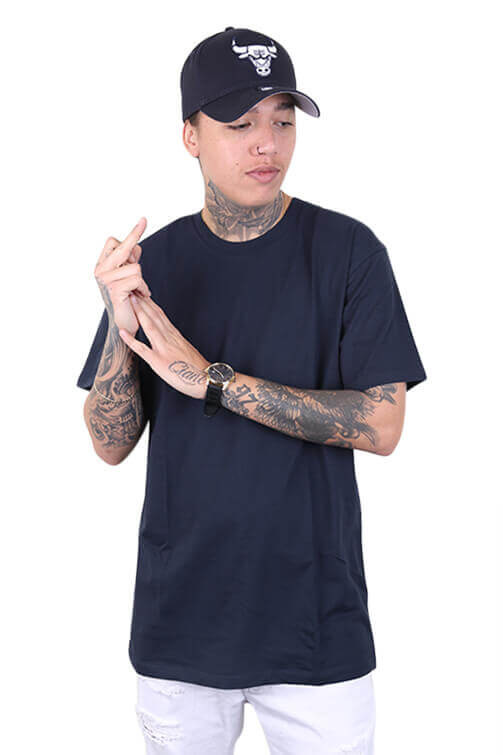 As Colour Staple Tee Navy Front