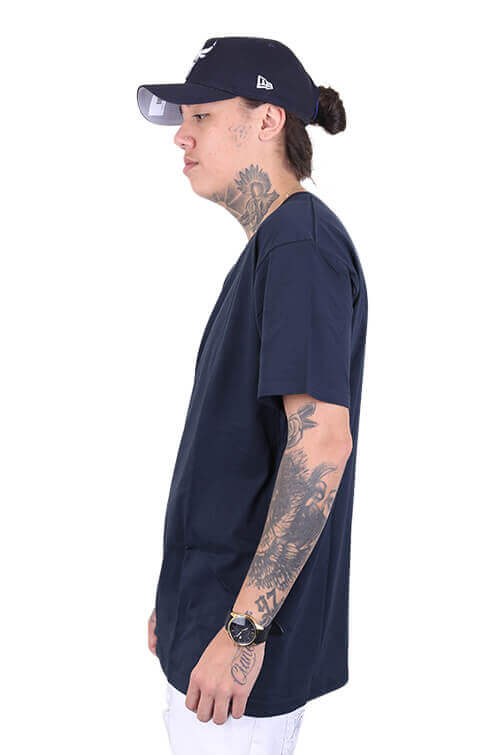 As Colour Staple Tee Navy Angle