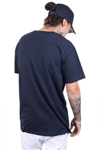 As Colour Staple Tee Navy Back