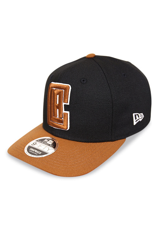 New Era 950 PC LA Clippers Toasted Black Snapback