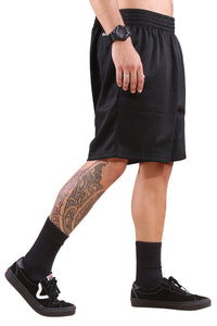 M&N Lakers Basic Mesh Court Short Black