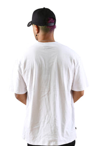 Stussy Solid Tour S/S Tee White Back