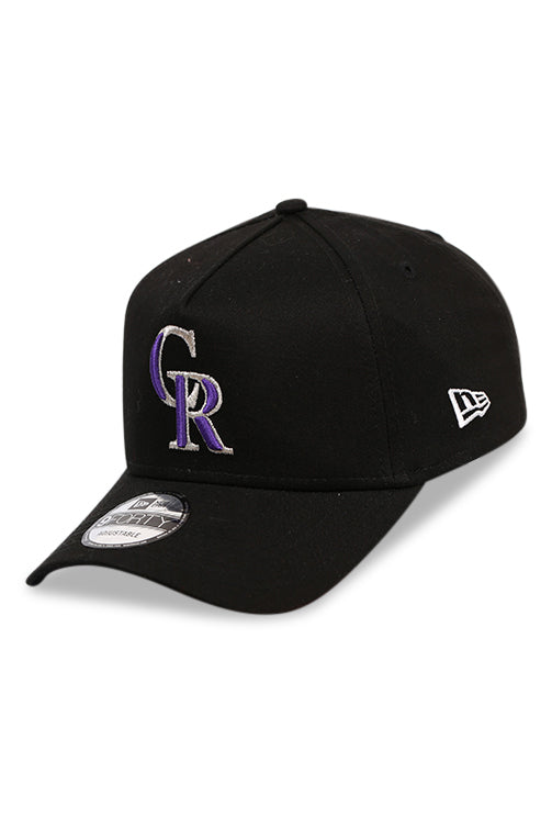 New Era 940 A Frame Colorado Rockies Black Snapback