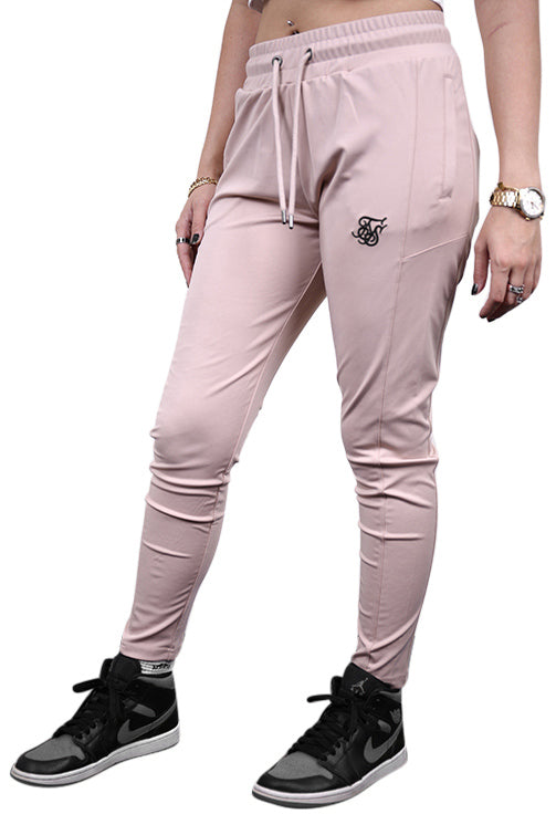 SikSilk Zonal Track Pants Beige Angle