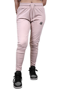 SikSilk Zonal Track Pants Beige Front