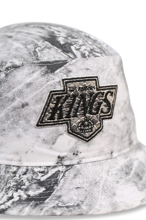 47 Brand LA Kings Vintage White Knuckle Down Bucket Detail