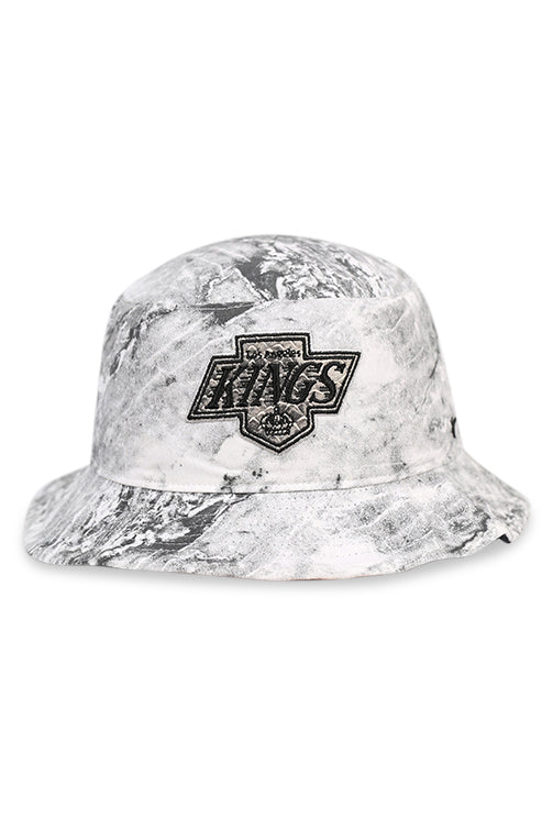 47 Brand LA Kings Vintage White Knuckle Down Bucket Front