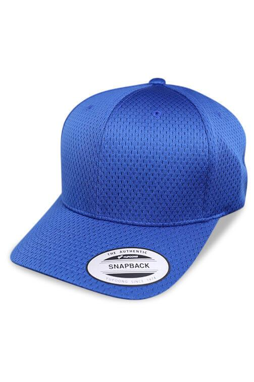 Flexfit Sports Cap Royal Snapback Angle