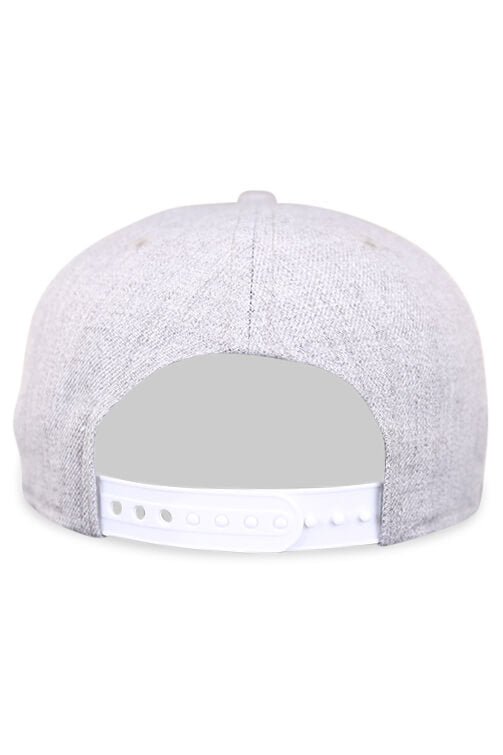 New Era 950 Pre Curved 76ers Heather Grey Snapback