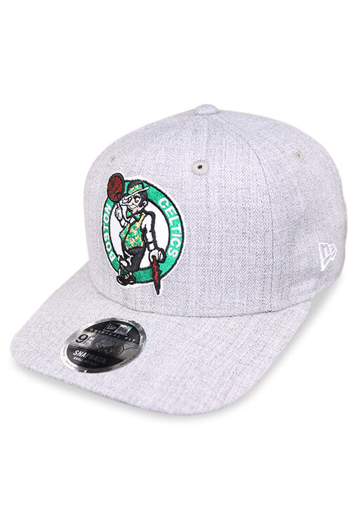 New Era 950 Pre Curved Celtics Heather Grey Snapback