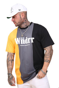 WNDRR Exposed 3 Panel Custom Fit Tee Multi Angle
