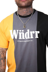WNDRR Exposed 3 Panel Custom Fit Tee Multi Detail