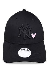 New Era Womens 940 NY Heart Black Strapback