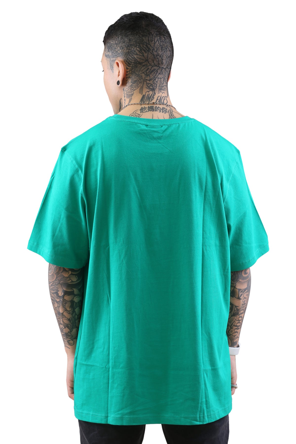 Russell Athletic Arch Logo Crew Tee Emerald