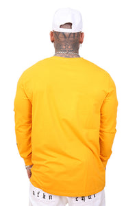 Ilabb Capsize L/S Tee Yellow Back