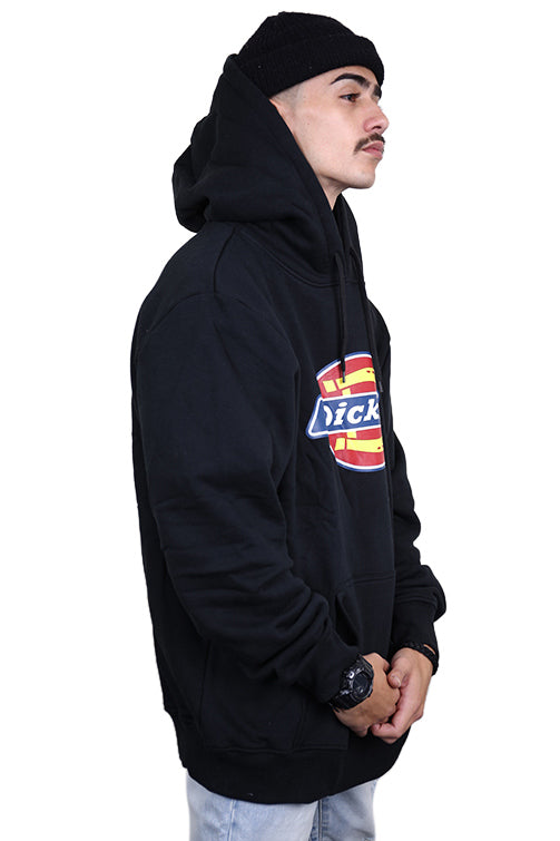 Dickies Pop Over Hoody H.S Classic Black Angle