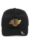 Majestic Kings NHL Gold Enamel Crest Black Snapback