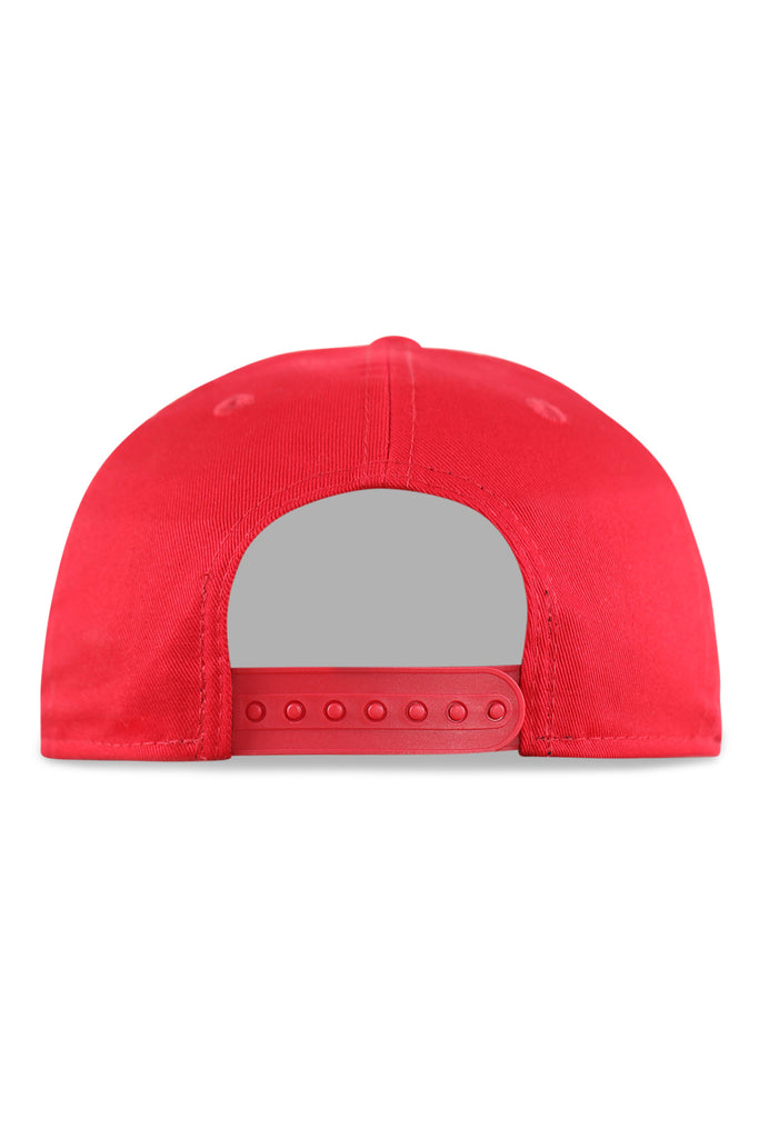 New Era Youth 940 A Frame LA Scarlet/Grey Snapback
