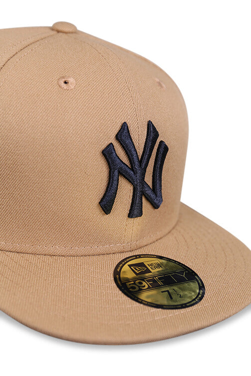 New Era 5950 NY Yankees Wheat/Black