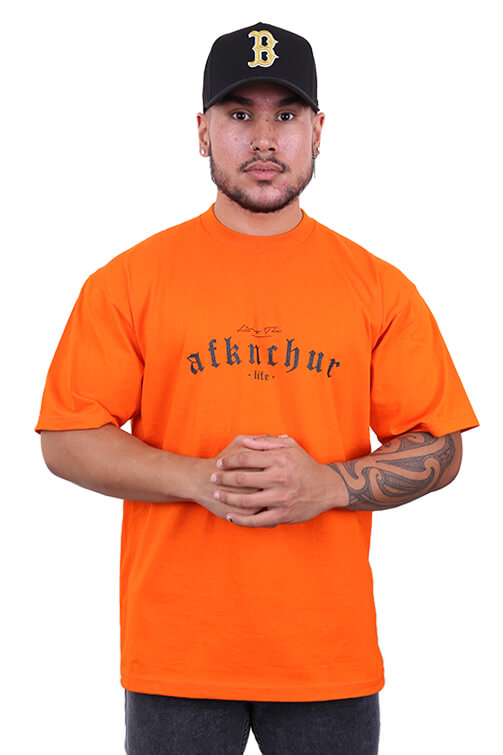 AFKNCHUR Pro Club Lifestyle Tee Orange