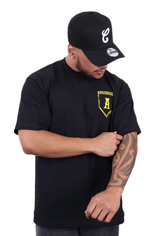 AFKNCHUR Pro Club Homebase Tee Black