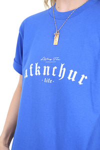 AFKNCHUR Pro Club Womens Lifestyle Tee Blue