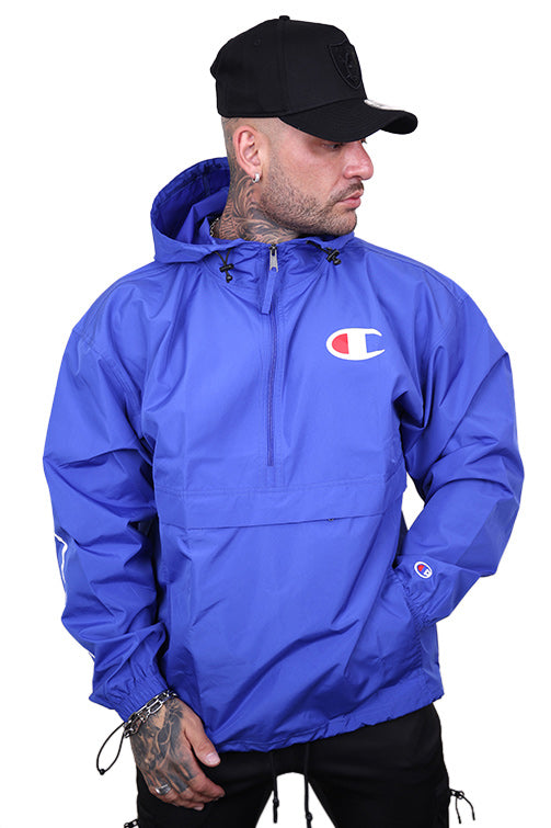 Champion Packable Script Jacket Surf The Web Front